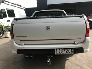 2005 Holden Crewman VZ S White 4 Speed Automatic Crew Cab Utility
