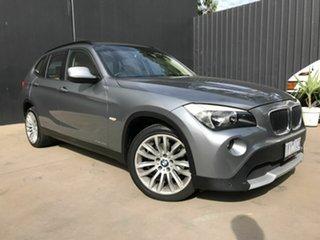 2010 BMW X1 E84 xDrive 20D Grey 6 Speed Automatic Wagon.
