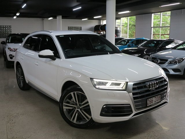 Used Audi Q5 FY MY17 TDI S Tronic Quattro Ultra Sport, 2017 Audi Q5 FY MY17 TDI S Tronic Quattro Ultra Sport White 7 Speed Sports Automatic Dual Clutch