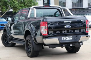 2018 Ford Ranger PX MkIII 2019.00MY XLT Pick-up Double Cab Shadow Black 10 Speed Sports Automatic
