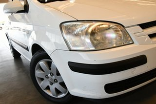 2004 Hyundai Getz TB GL Noble White 5 Speed Manual Hatchback.