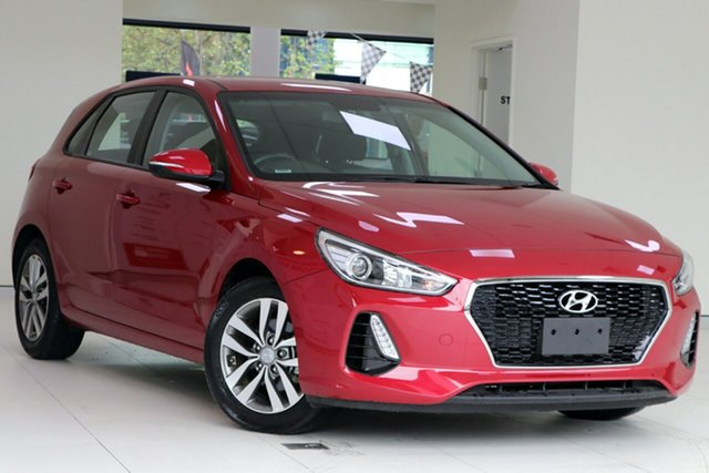 Used Hyundai i30 PD2 Update Active, 2018 Hyundai i30 PD2 Update Active Red 6 Speed Auto Sequential Hatchback