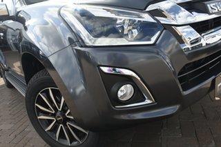 2020 Isuzu D-MAX MY19 LS-T Crew Cab Titanium Silver 6 Speed Sports Automatic Utility.