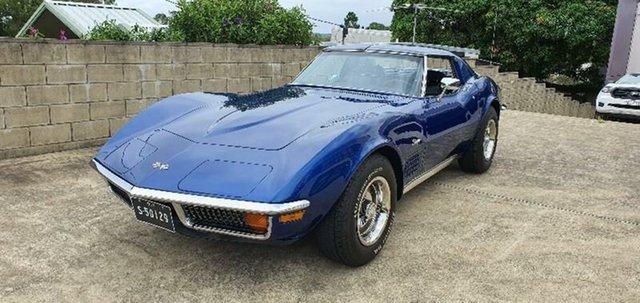 Used Chevrolet Corvette  Stingray, 1972 Chevrolet Corvette Stingray Blue 3 Speed Automatic Coupe