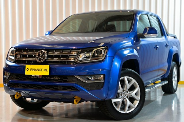 Used Volkswagen Amarok 2H MY17 TDI550 4MOTION Perm Ultimate, 2016 Volkswagen Amarok 2H MY17 TDI550 4MOTION Perm Ultimate Blue 8 Speed Automatic Utility