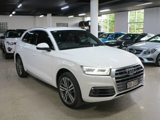 2017 Audi Q5 FY MY17 TDI S Tronic Quattro Ultra Sport White 7 Speed Sports Automatic Dual Clutch.