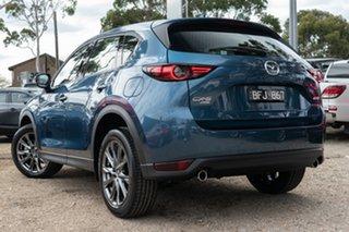 2020 Mazda CX-5 KF4WLA Akera SKYACTIV-Drive i-ACTIV AWD Blue 6 Speed Sports Automatic Wagon.