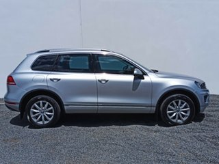 2015 Volkswagen Touareg 7P MY16 150TDI Tiptronic 4MOTION Silver 8 Speed Sports Automatic Wagon