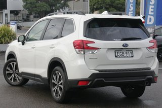 2019 Subaru Forester MY20 2.5I Premium (AWD) Crystal White Pearl Continuous Variable Wagon.