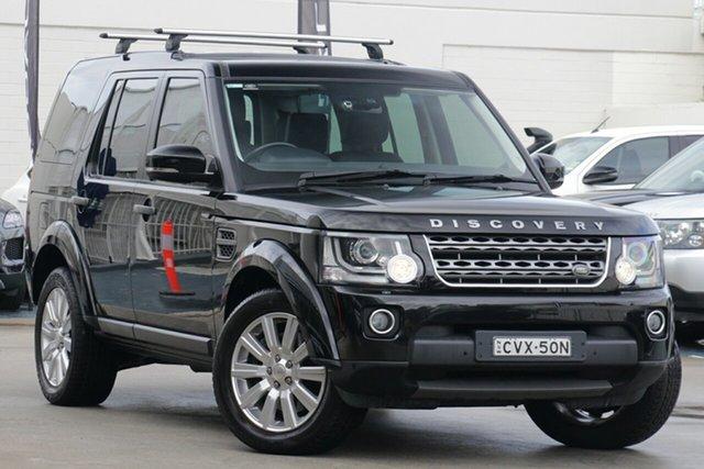 Used Land Rover Discovery 4 Series 4 L319 MY13 SDV6 SE, 2013 Land Rover Discovery 4 Series 4 L319 MY13 SDV6 SE Black 8 Speed Sports Automatic Wagon