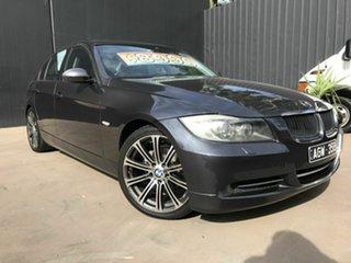 2007 BMW 320i E90 07 Upgrade Grey 6 Speed Auto Steptronic Sedan.