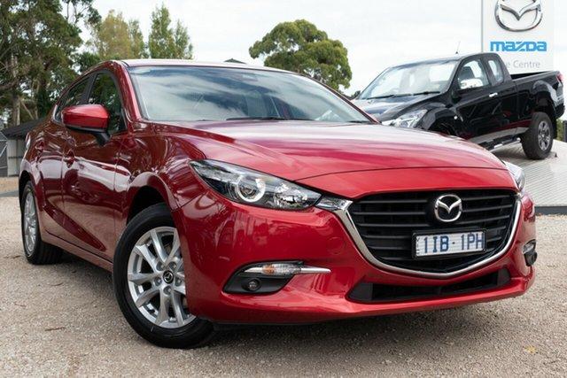 Used Mazda 3 BM5278 Maxx SKYACTIV-Drive, 2016 Mazda 3 BM5278 Maxx SKYACTIV-Drive Red 6 Speed Sports Automatic Sedan