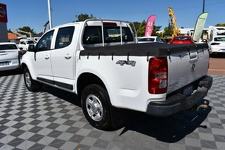 2014 Holden Colorado RG MY14 LX Crew Cab White 6 Speed Manual Utility