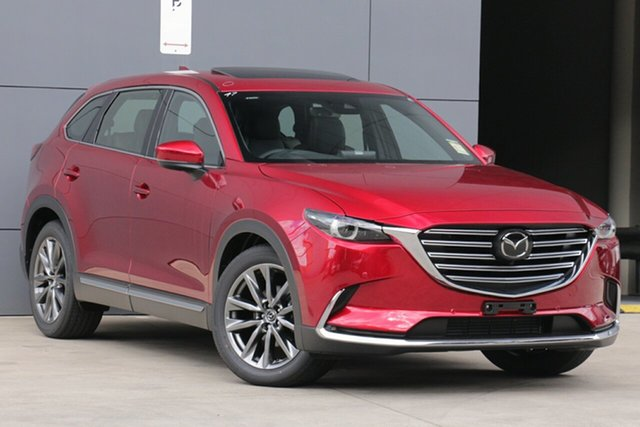 New Mazda CX-9 TC Azami SKYACTIV-Drive North Rockhampton, 2021 Mazda CX-9 TC Azami SKYACTIV-Drive Soul Red Crystal 6 Speed Sports Automatic Wagon