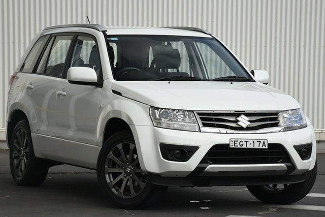 Used Suzuki Grand Vitara JB Navigator 2WD, 2015 Suzuki Grand Vitara JB Navigator 2WD White 4 Speed Automatic Wagon