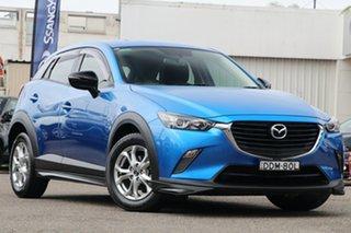 2015 Mazda CX-3 DK2W7A Neo SKYACTIV-Drive Blue 6 Speed Sports Automatic Wagon.