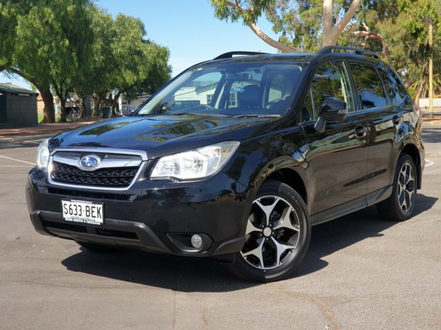 Used Subaru Forester S4 MY14 2.5i-S Lineartronic AWD, 2014 Subaru Forester S4 MY14 2.5i-S Lineartronic AWD Black 6 Speed Constant Variable Wagon