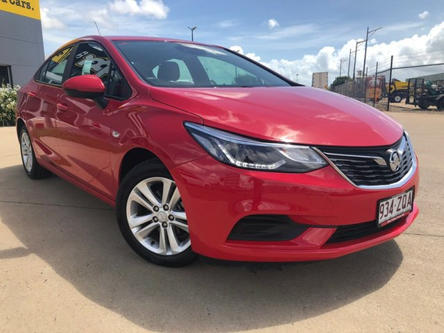 Used Holden Astra BL MY18 LS+, 2018 Holden Astra BL MY18 LS+ Red 6 Speed Sports Automatic Sedan