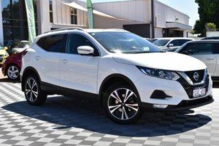 2019 Nissan Qashqai J11 Series 2 ST-L X-tronic White 1 Speed Constant Variable Wagon.