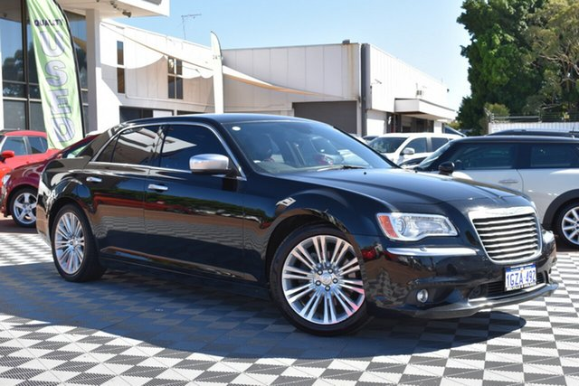 Used Chrysler 300 LX MY13 C E-Shift Luxury, 2013 Chrysler 300 LX MY13 C E-Shift Luxury Black 8 Speed Sports Automatic Sedan
