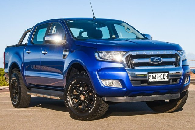 Used Ford Ranger PX MkII XLT, 2016 Ford Ranger PX MkII XLT Blue 6 Speed Sports Automatic Utility
