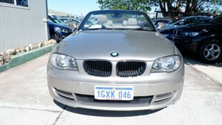 2009 BMW 120i E88 MY09 120i Silver 6 Speed Automatic Convertible.