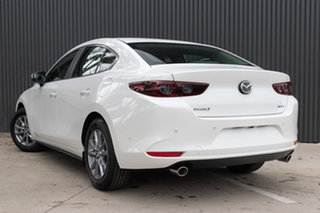 2020 Mazda 3 BP2S7A G20 SKYACTIV-Drive Pure Snowflake White Pearl 6 Speed Sports Automatic Sedan