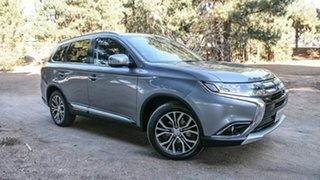 2017 Mitsubishi Outlander ZK MY17 LS 2WD Silver 6 Speed Constant Variable Wagon.