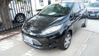2011 Ford Fiesta WT CL Black 5 Speed Manual Hatchback.