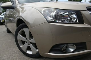2009 Holden Cruze JG CDX Gold 6 Speed Sports Automatic Sedan.