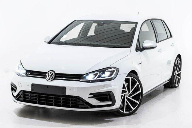 Used Volkswagen Golf 7.5 MY18 R 4MOTION, 2018 Volkswagen Golf 7.5 MY18 R 4MOTION White 6 Speed Manual Hatchback