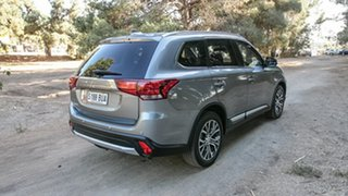 2017 Mitsubishi Outlander ZK MY17 LS 2WD Silver 6 Speed Constant Variable Wagon