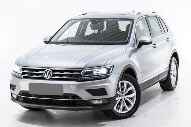 Used Volkswagen Tiguan 5N MY18 162TSI DSG 4MOTION Highline, 2018 Volkswagen Tiguan 5N MY18 162TSI DSG 4MOTION Highline Silver 7 Speed