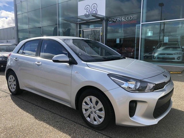 Used Kia Rio YB MY19 S, 2018 Kia Rio YB MY19 S Silver 4 Speed Sports Automatic Hatchback