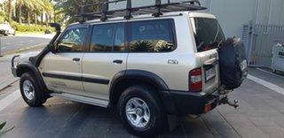 2001 Nissan Patrol GU II ST (4x4) Gold 5 Speed Manual 4x4 Wagon
