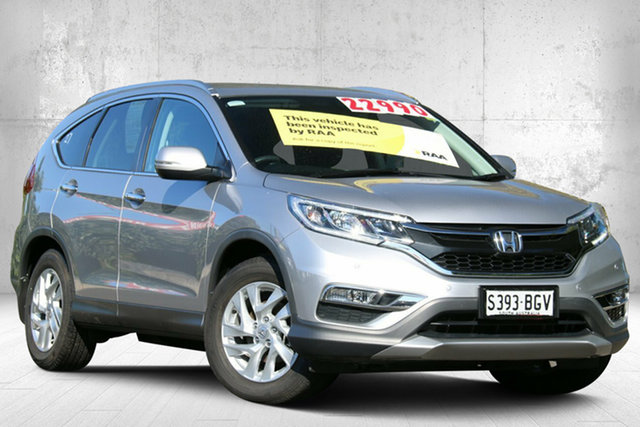 Used Honda CR-V RM Series II MY16 VTi-S 4WD, 2015 Honda CR-V RM Series II MY16 VTi-S 4WD Alabaster Silver 5 Speed Sports Automatic Wagon