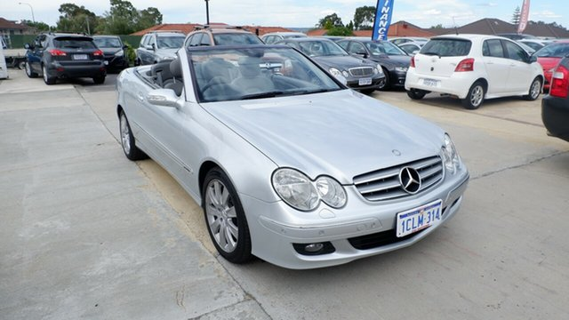 Used Mercedes-Benz CLK-Class A209 MY07 CLK280 Elegance, 2007 Mercedes-Benz CLK-Class A209 MY07 CLK280 Elegance Silver 7 Speed Automatic Cabriolet