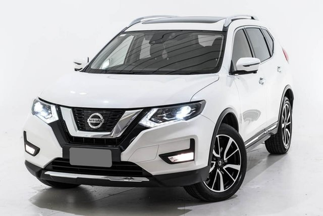 Used Nissan X-Trail T32 Series II TL X-tronic 4WD, 2017 Nissan X-Trail T32 Series II TL X-tronic 4WD White 7 Speed Constant Variable Wagon