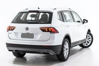 2019 Volkswagen Tiguan 5N MY19.5 110TSI Comfortline DSG 2WD Allspace White 6 Speed.