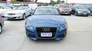 2009 Audi A5 8T MY09 Multitronic Blue 8 Speed Constant Variable Coupe.