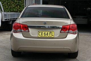 2009 Holden Cruze JG CDX Gold 6 Speed Sports Automatic Sedan