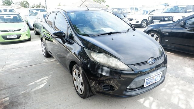 Used Ford Fiesta WT CL, 2011 Ford Fiesta WT CL Black 5 Speed Manual Hatchback