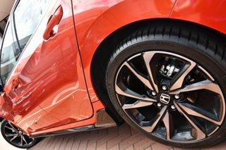 2020 Honda Civic 10th Gen MY20 RS Phoenix Orange 1 Speed Constant Variable Hatchback