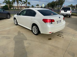 2012 Subaru Liberty B5 MY12 2.5i AWD White 6 Speed Manual Sedan