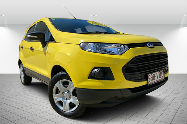 Used Ford Ecosport BK Ambiente, 2015 Ford Ecosport BK Ambiente Yellow 5 Speed Manual Wagon