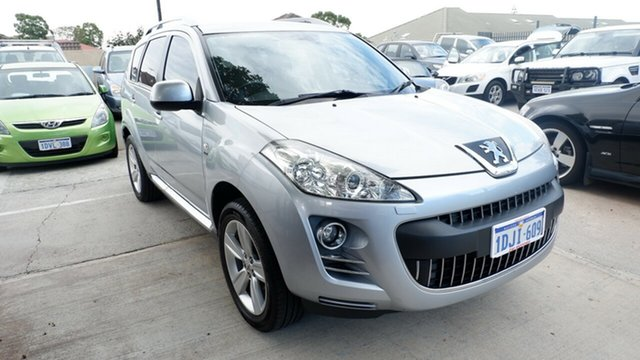 Used Peugeot 4007  SV DCS Auto HDi, 2010 Peugeot 4007 SV DCS Auto HDi Silver 6 Speed Sports Automatic Dual Clutch Wagon