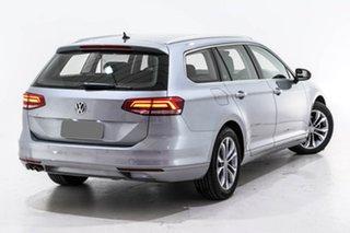 2019 Volkswagen Passat 3C (B8) MY19 132TSI DSG Silver 7 Speed Sports Automatic Dual Clutch Wagon.