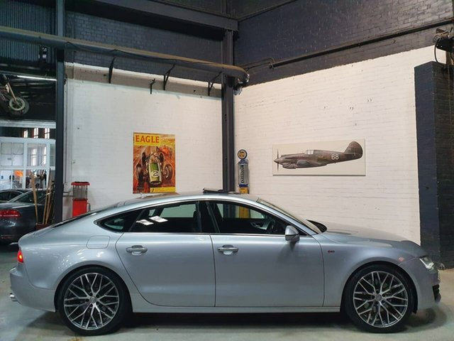 Used Audi A7 4G Sportback S Tronic Quattro, 2011 Audi A7 4G Sportback S Tronic Quattro Silver 7 Speed Sports Automatic Dual Clutch Hatchback