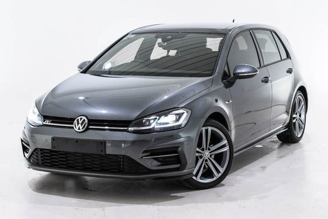 Used Volkswagen Golf 7.5 MY18 110TSI DSG Highline, 2018 Volkswagen Golf 7.5 MY18 110TSI DSG Highline Grey 7 Speed Sports Automatic Dual Clutch