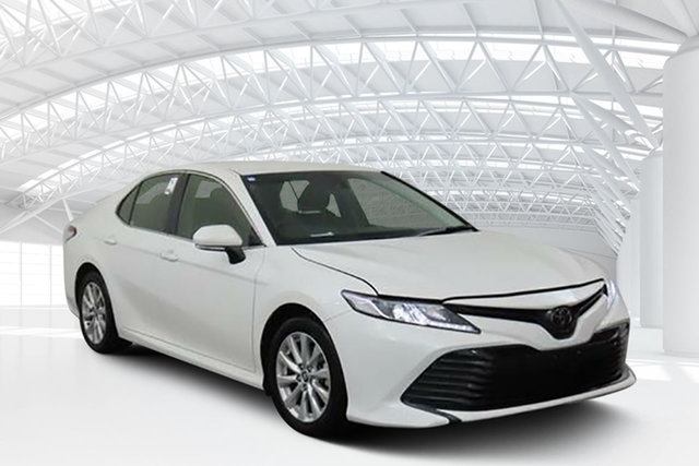 Used Toyota Camry ASV70R Ascent, 2019 Toyota Camry ASV70R Ascent White 6 Speed Sports Automatic Sedan